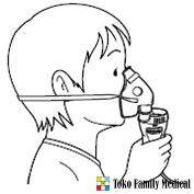Masker anak (PVC)